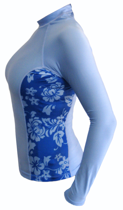 Womens Aloha Rash Guard