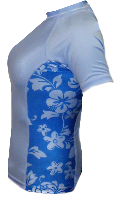 Womens Aloha Swim Shirt