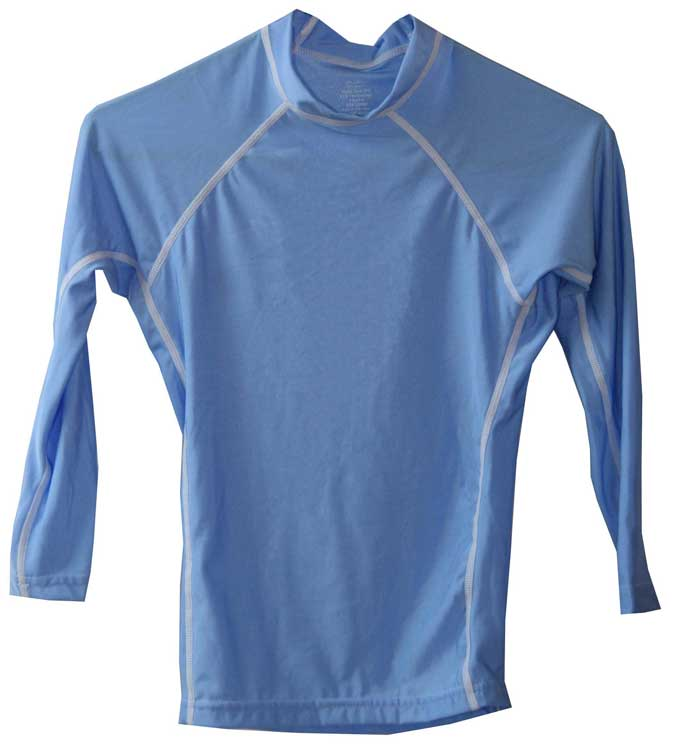 Kids Long Sleeve Swim Shirt