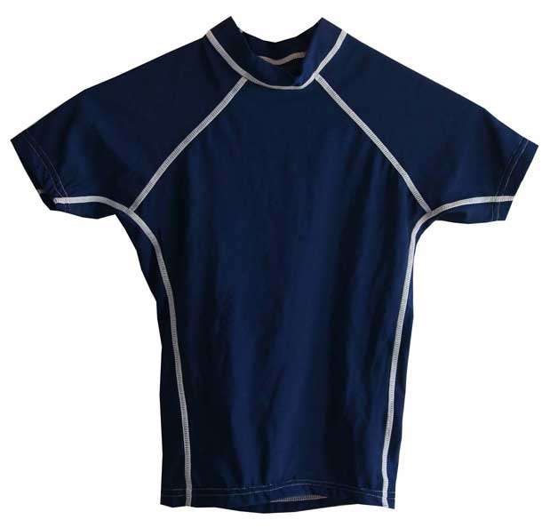 Kids UV Swim Shirt Navy